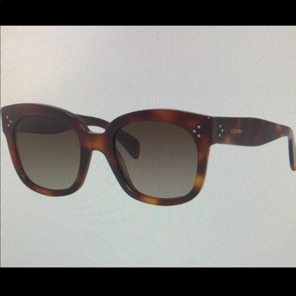 7648626e77a3 Celine Accessories - Celine New Audrey Sunglasses
